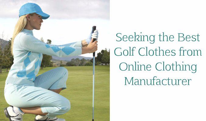 Golf Clothing Manufacturer