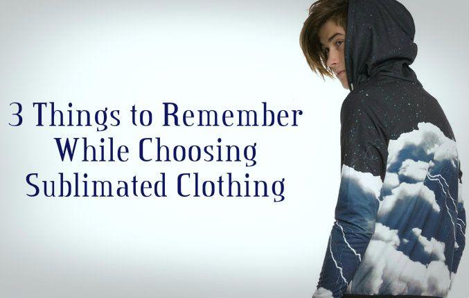 Wholesale Sublimated Clothing