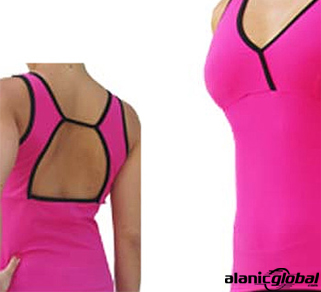 HOT PINK FITNESS TEE