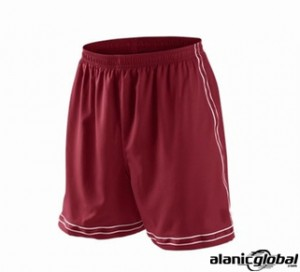 MAROON GYM SHORTS