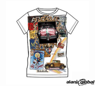 COLLAGE PRINTED SUBLIMATED T-SHIRT