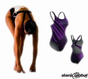 DARK PURPLE MAGIC SWIM SUIT