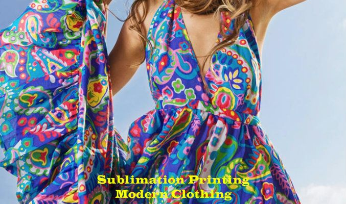 Sublimation Printing Modern Clothing