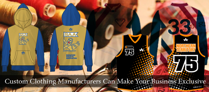 Custom Made Clothing Manufacturer