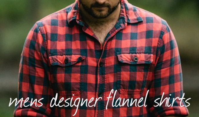 Mens Designer Flannel Shirts