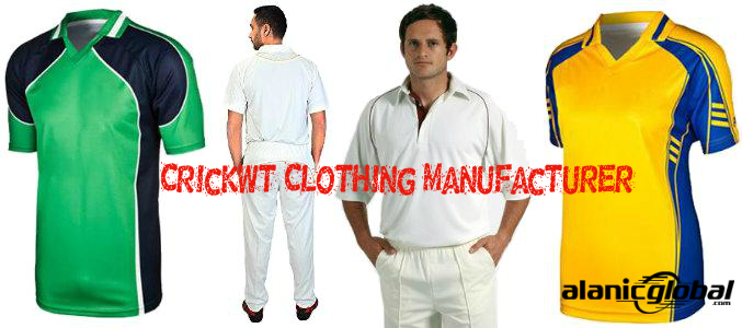 Cricket Clothing Manufacturer
