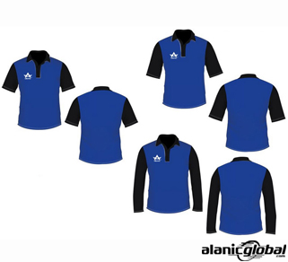 Fantastic Blue Cricket Shirt