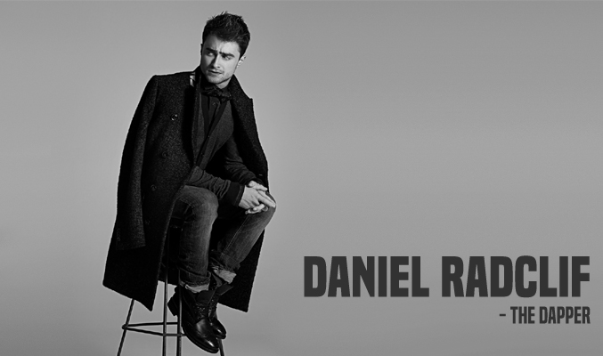 Daniel Radcliff Men Fashion Clothing