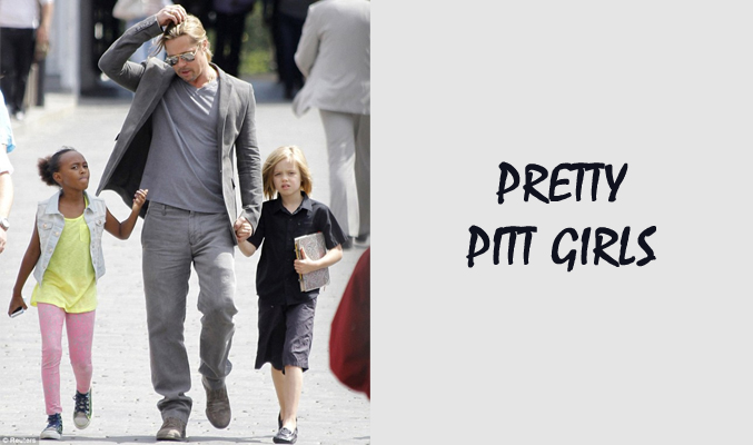 Pretty Pitt Girls Kids Clothing