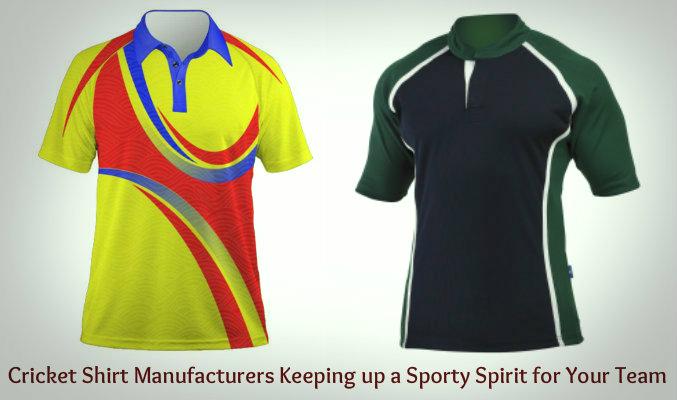 Cricket Shirt Manufacturers