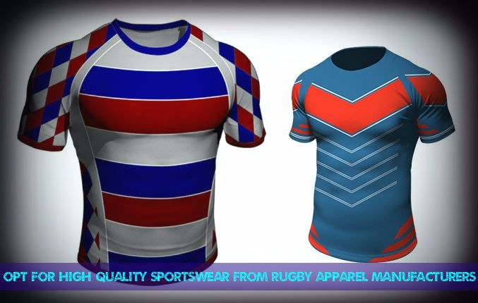 Rugby Apparel Manufacturers USA