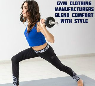 Gym Apparel Manufacturer USA
