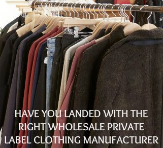 Private Label Clothing Wholesalers