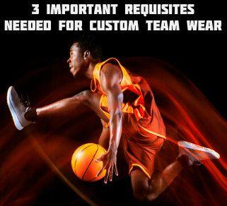 Custom Team Wear Manufacturers USA