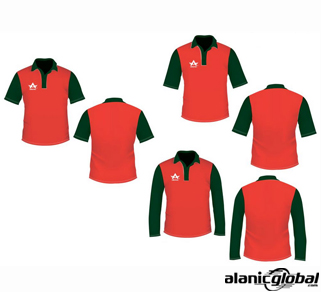RED & BLACK CRICKET JERSEY