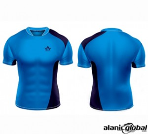 SKY BLUE RUGBY SHIRTS