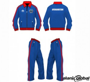 RED BORDERED CRICKET COSTUME