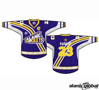 Blue Dominant Ice Hockey Jersey