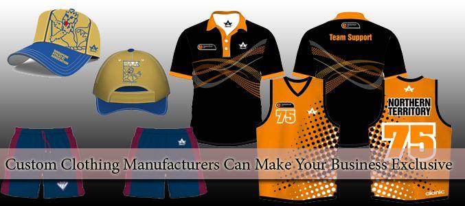 Custom Clothing Design Manufacturer USA