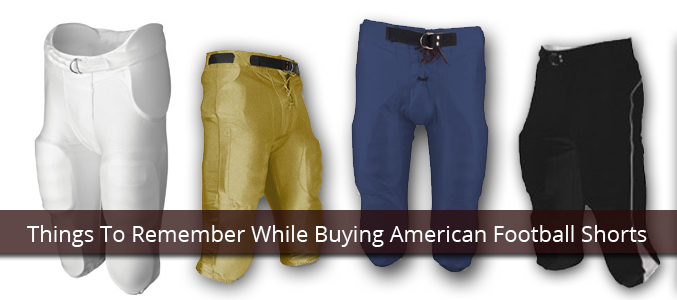 American Football Shorts Manufacturer
