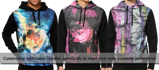 Sublimated Hoodies Manufacturer USA
