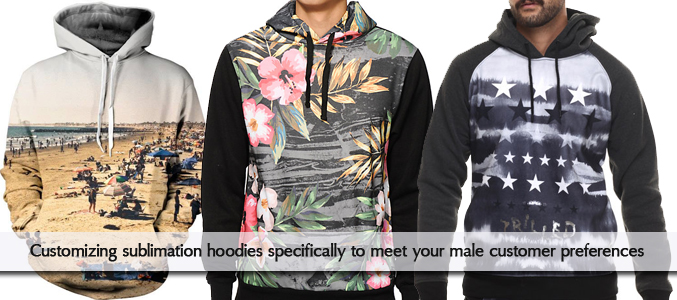 Sublimation Hoodies Wholesale