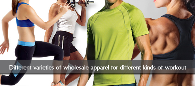 Wholesale Workout Apparel