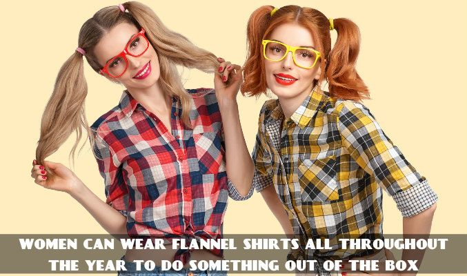Womens Plaid Flannel Shirts