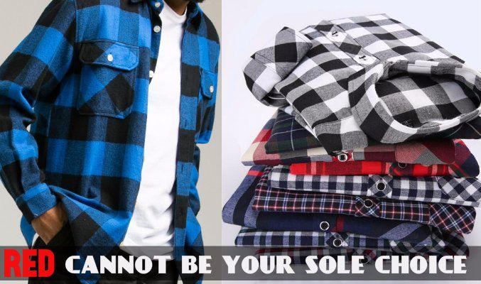 Mens Designer Flannel Shirts