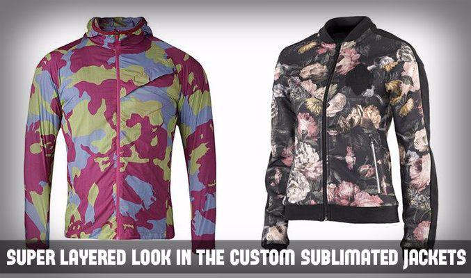 Custom Sublimated Jackets