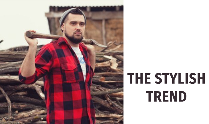 Lumbersexual Flannel Men Shirt