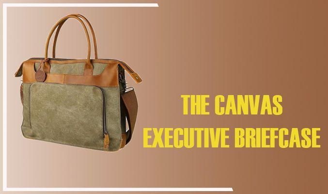 The Canvas Executive Briefcase