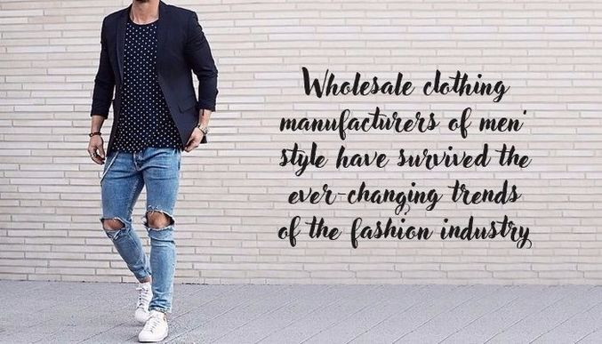 Wholesale Mens Clothing Suppliers
