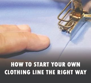 How to Produce a Clothing Line