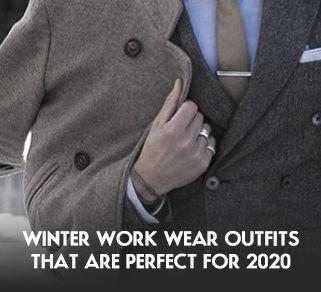 Winter Work Wear Outfits