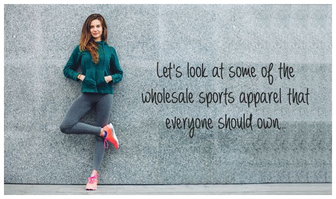Wholesale Sports Apparel
