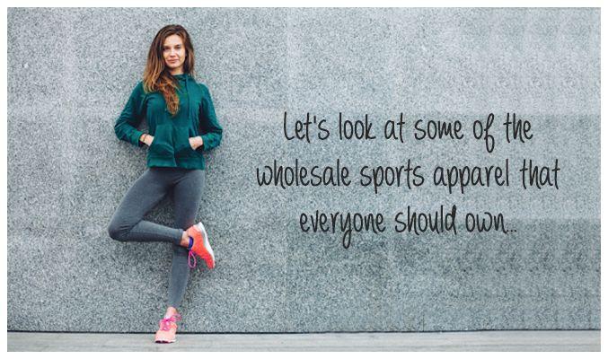 Wholesale Sports Apparel