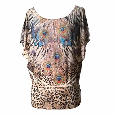 Animal Printed Custom Flared Top Manufacturer