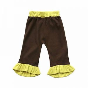 Baby Girl Black and Yellow Frill Bottom Manufacturer