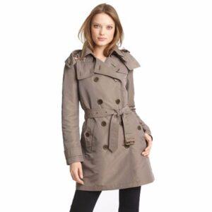 Beige Trench Coat for Women Wholesale