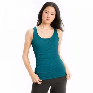 Bluish Green Sleeveless Top for Women Manufacturers