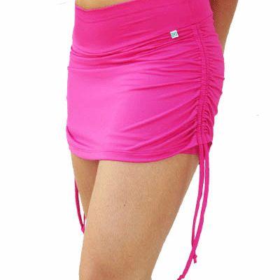 Bright Pink Dance Fitness Tube Skirt Supplier