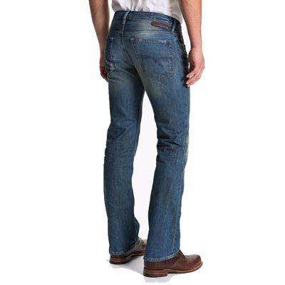 Casual Blue Denim Jeans for Men Supplier