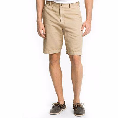 Cream Knee Length Shorts for Men Distributor
