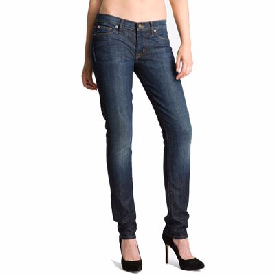 Dark Blue Slim Fit Jeans for Women Manufacturer