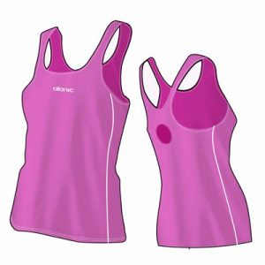 Fresh Pink Women's Bodycon Fitness Singlet Distributor