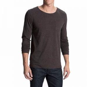 Grey Full Sleeves Casual T Shirt for Men Distributor