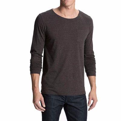 Grey Full Sleeves Casual T Shirt for Men Distributor