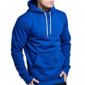 High Quality Royal Blue Mens Hoodie Supplier