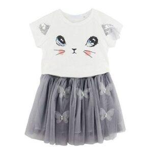 Kids Girls Cute Clothing Set Distributor